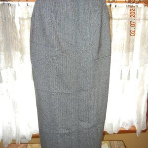 Vintage Campus Casual Office Maxi Skirt sz 12